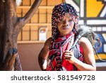 lesedi cultural village  south... | Shutterstock . vector #581549728