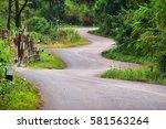 Beautiful Zigzag Road