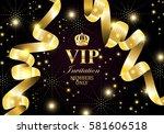 vip invitation members only ... | Shutterstock .eps vector #581606518