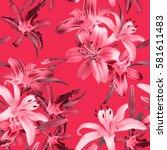 Vibrant Floral Pattern Blossom Flowers - Fine Art prints