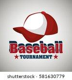 baseball club emblem icon | Shutterstock .eps vector #581630779