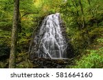 crabtree falls  north carolina | Shutterstock . vector #581664160