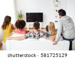 friendship  people and... | Shutterstock . vector #581725129