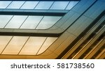study of patterns and lines  | Shutterstock . vector #581738560