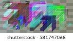 navigation vector template   Shutterstock .eps vector #581747068