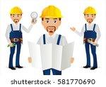 elegant people professional... | Shutterstock .eps vector #581770690