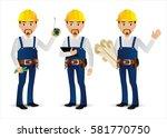 elegant people professional... | Shutterstock .eps vector #581770750