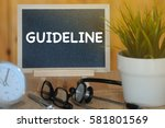 health and medical concept ... | Shutterstock . vector #581801569