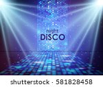 Disco Abstract Background....