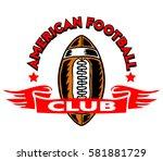 football club badge | Shutterstock .eps vector #581881729