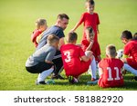 Kids Soccer Waiting In A Out...