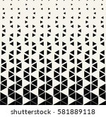 abstract geometric halftone... | Shutterstock .eps vector #581889118