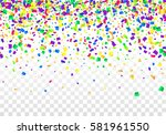 vector bright colorful... | Shutterstock .eps vector #581961550