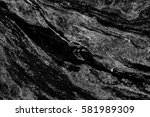 Abstract Natural Marble Black...