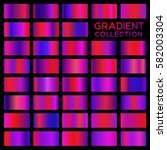 gradient collection for fashion ... | Shutterstock .eps vector #582003304