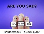 are you sad  | Shutterstock . vector #582011680