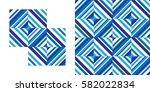 geometrical pattern  background ... | Shutterstock .eps vector #582022834
