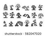 black tree logo illustration...