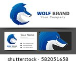 corporate logo and business... | Shutterstock .eps vector #582051658