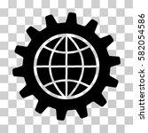 global options vector icon.... | Shutterstock .eps vector #582054586