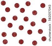 vintage polkadot pattern   Shutterstock . vector #582057043