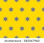 modern geometric seamless... | Shutterstock . vector #582067960