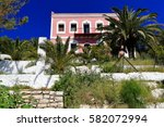 Two Storied Neoclassical Pink...