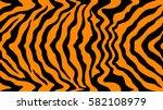 pattern texture tiger orange... | Shutterstock .eps vector #582108979