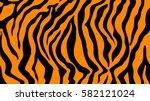 Pattern Texture Tiger Orange...