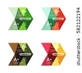 vector collection of colorful... | Shutterstock .eps vector #582122194