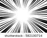 sun rays for comic books radial ... | Shutterstock .eps vector #582130714