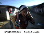 lho  gorkha  nepal   november... | Shutterstock . vector #582152638