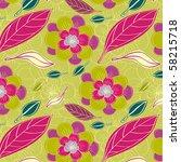 flower fantasy | Shutterstock .eps vector #58215718