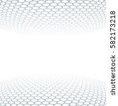 carbon fiber texture. vector... | Shutterstock .eps vector #582173218