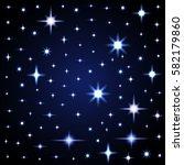 Light Glare  Space Stars....