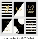 a set of 6 modern and stylish...   Shutterstock .eps vector #582186169