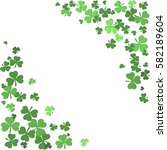 st patrick's day background... | Shutterstock .eps vector #582189604