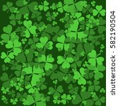 st patrick's day background... | Shutterstock .eps vector #582190504