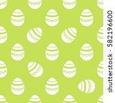 pastel easter egg | Shutterstock .eps vector #582196600