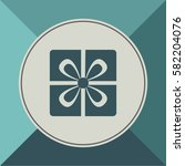gift icon  web design element | Shutterstock .eps vector #582204076