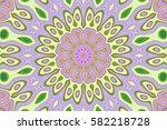 modern floral pattern.... | Shutterstock . vector #582218728