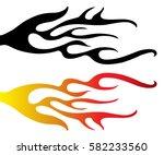 hand drawn vector illustration... | Shutterstock .eps vector #582233560