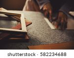 framing the pictures  details... | Shutterstock . vector #582234688