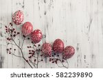Decorated Easter Eggs Using A...