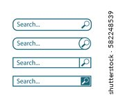 search bar vector element...