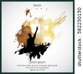 dancing people | Shutterstock .eps vector #582250150