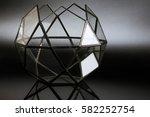 florarium. glass vases for... | Shutterstock . vector #582252754
