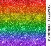 glitter background  lgbt colors.... | Shutterstock .eps vector #582269860
