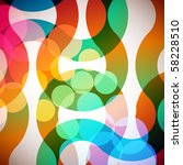 abstract rainbow background   Shutterstock .eps vector #58228510