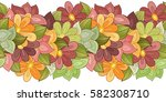 vector seamless floral pattern. ... | Shutterstock .eps vector #582308710